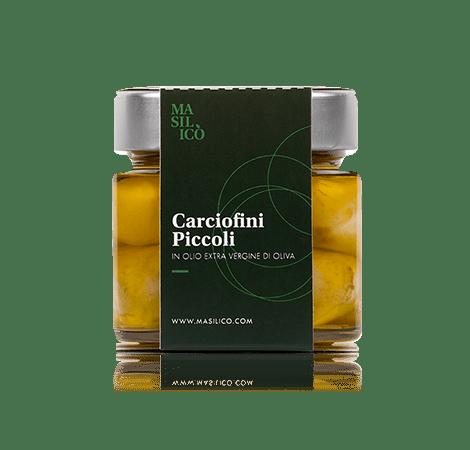 Carciofini piccoli in olio extra vergine di oliva 190 g