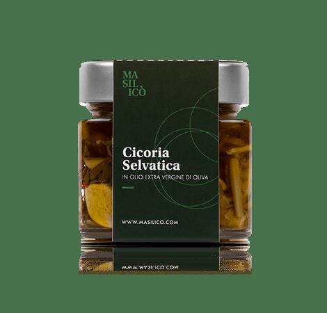Cicoria selvatica in olio extra vergine di oliva 190 g