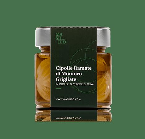 Cipolle ramate grigliate in olio extra vergine di oliva 190 g
