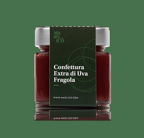 Confettura extra di uva fragola 260 g