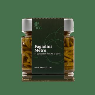 Fagiolini metro in olio extra vergine di oliva 190 g
