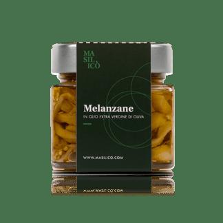 Melanzane in olio extra vergine di oliva 190 g