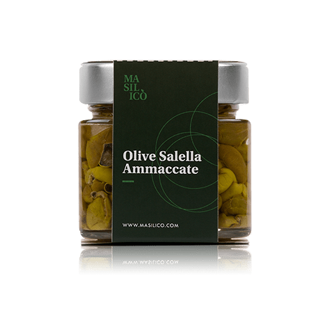 Olive salella ammaccate 190 g