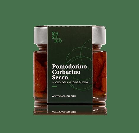 Pomodorino corbarino secco in olio extra vergine di oliva 190 g
