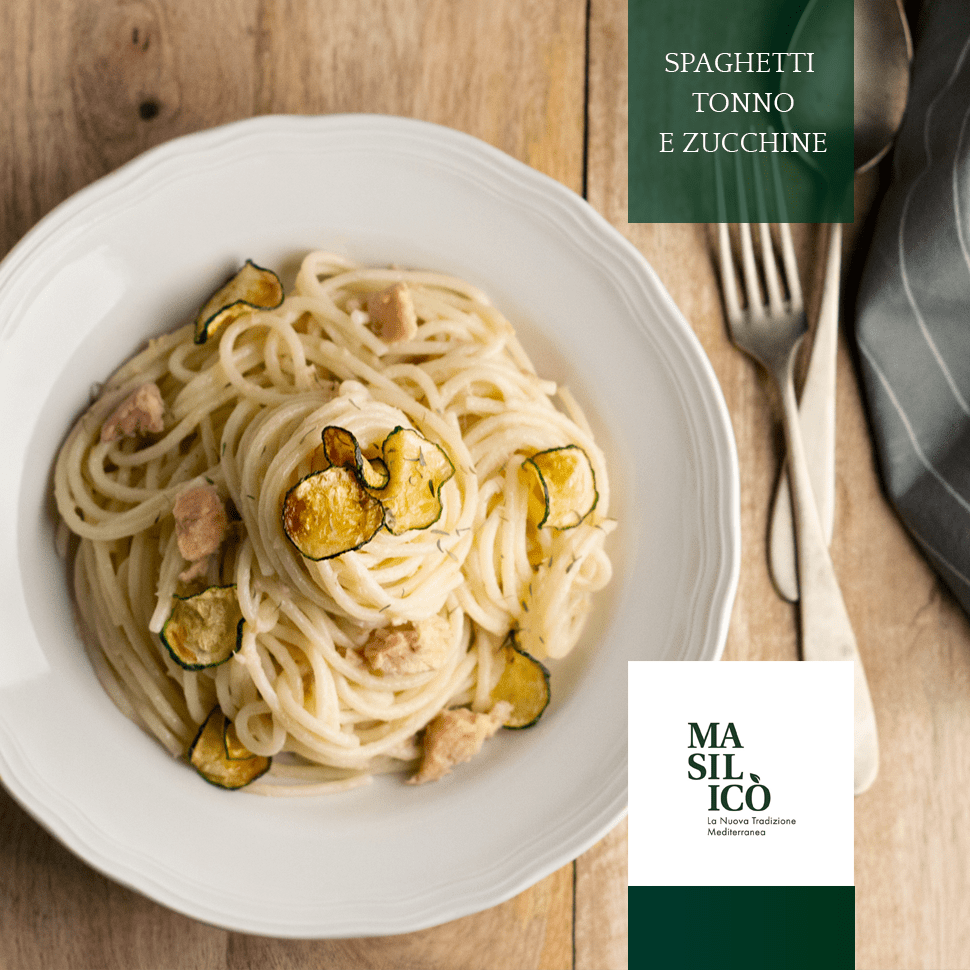 Spaghetti tonno e zucchine – La Ricetta della Settimana