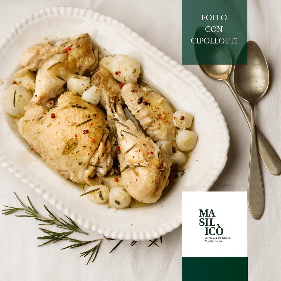 Pollo con cipollotti – La Ricetta della Settimana
