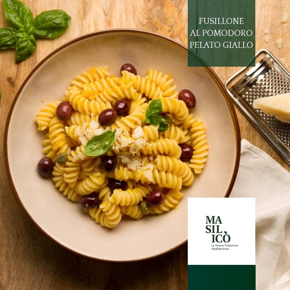 La ricetta della settimana: fusilloni con pomodoro pelato giallo
