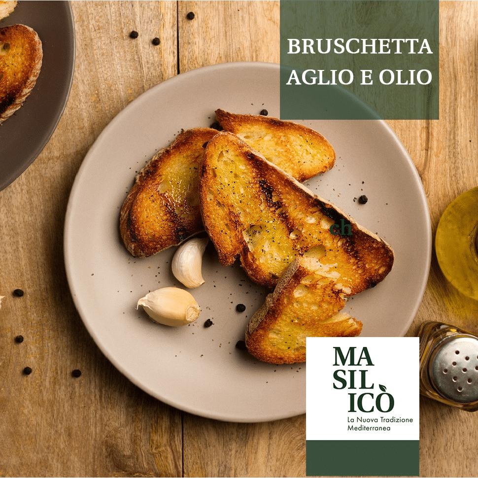La ricetta della settimana: bruschetta classica aglio e olio