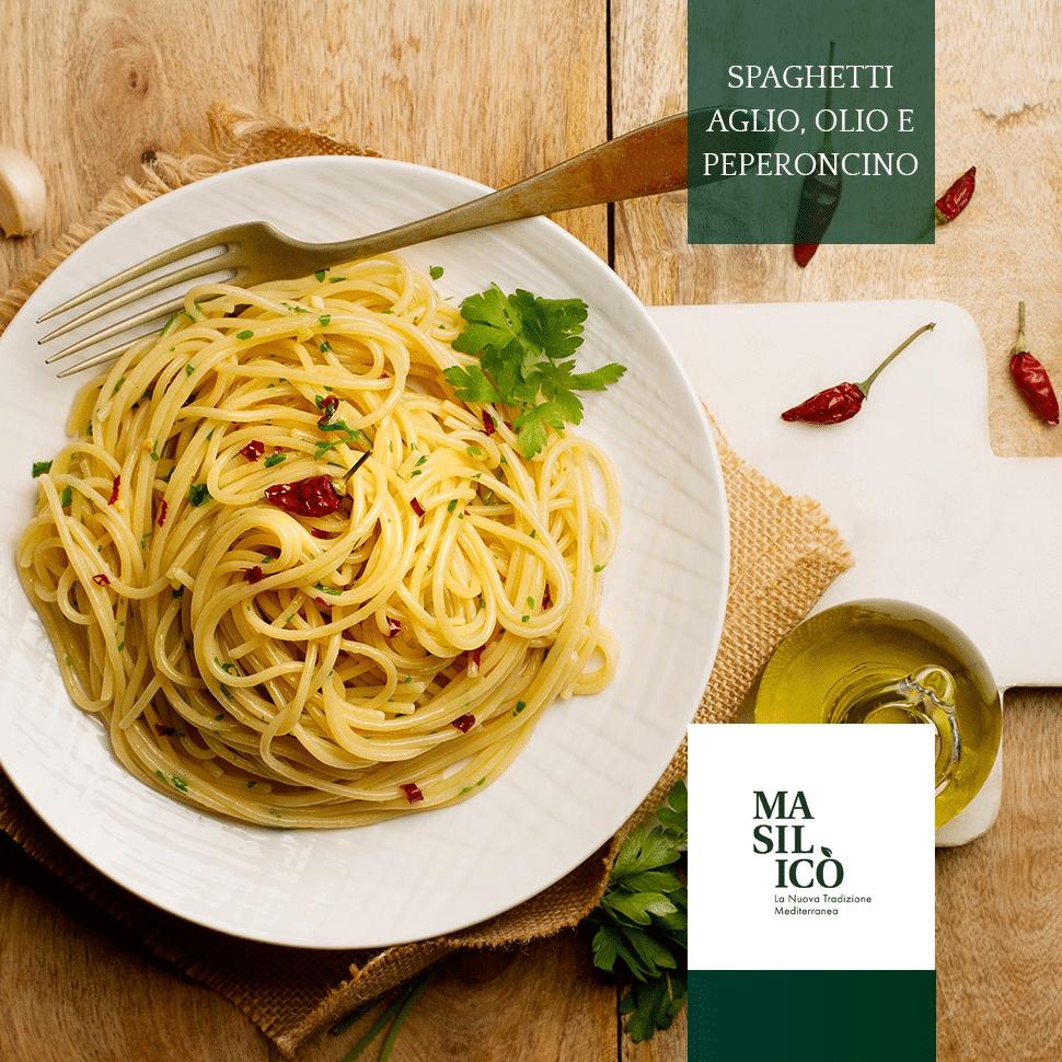 La ricetta della settimana, dei buonissimi spaghetti olio, aglio e peperoncino