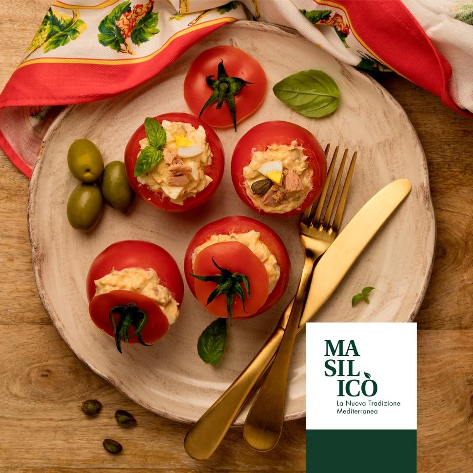 La Ricetta della Settimana: pomodori ripieni di tonno